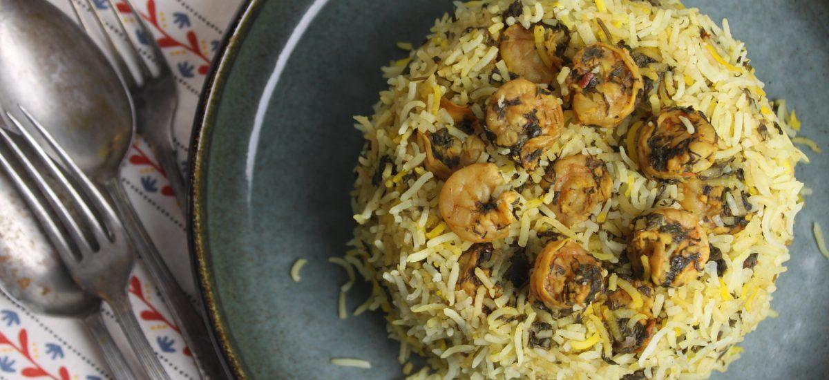Shrimp-Rice (Meygoo-polo) Recipe